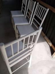 4 cadeiras usada bom estado ( entrego )