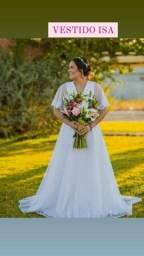 Vestido De Noiva Simples Novo Barato