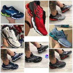 Vendo tênis Mizuno wave creation e adidas ( 120 com entrega )