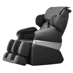Poltrona de Massagem Cristal - 41 Airbags - Preta - Diamond Chair<br><br>