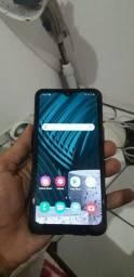 Samsung A10s fil de cabelo no canto direito como vcs podem olhar é a película trincado
