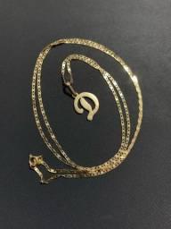 Título do anúncio: Cordão  de ouro com pingente