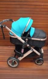 Título do anúncio: Carrinho de bebê + Moisés removível