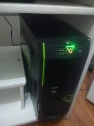 Título do anúncio: PC gamer - placa 1050ti - 8gb - sdd