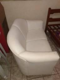 Título do anúncio: Vende se sofá de couro