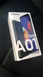 Celular Smartphone Samsung Galaxy A01 32GB - NOVO - Entrego Grátis