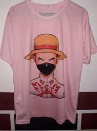 Camisa free fire T-M