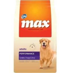 Ração Max cordeiro 20 kg caes adulto