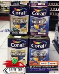 Título do anúncio: ~~>Promoção Tinta Coral 18 Litros / 3,6 Litros / Enjoy !