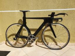 Giant trinity advanced SL1(carbono )shimano Dura-Ace 2x11 triathlon ,rodas mavic