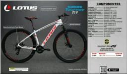 Bicicleta Lotus 21v Aro 29 Tam17,5 Toda Shimano Tourney