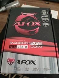 Placa de vídeo - R5 220 - 2GB