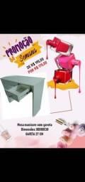 Promoção de mesa manicure com gaveta