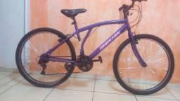 Bicicleta de marcha alumínio semi nova