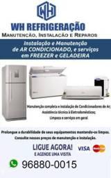 Título do anúncio: Conserto de Geladeira, Freezer, Ar condicionado e Bebedouro