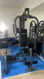 Estação de musculação com Leg Press- Titanium Fitness
