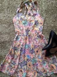 Vestido estampado tamanho 42 produtos femininos