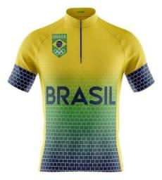 Título do anúncio: Camisa Ciclismo Mountain Bike Seleção Brasil