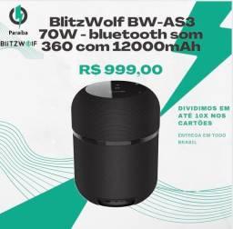 Caixa de som blitzwolf 70W - Promoção