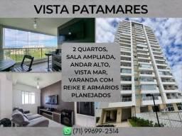 2 quartos, apartamento com 78m² em Vista Patamares - Formoso