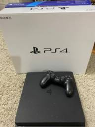Título do anúncio: Vendo PS4 500 GB Slim semi novo