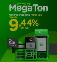 Título do anúncio: Se você quer taxa baixa, escolha o mega ton