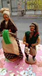 Bonecos em terracota