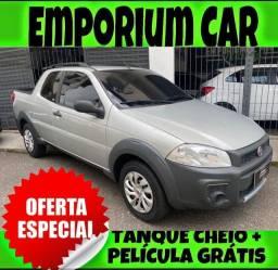 Título do anúncio: TANQUE CHEIO SO NA EMPORIUM CAR!!! FIAT STRADA 1.4 CD 3 PORTAS ANO 2016