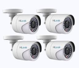 Promoção:Kit Cftv 4 Câmeras Infravermelho! Monitore pelo seu celular