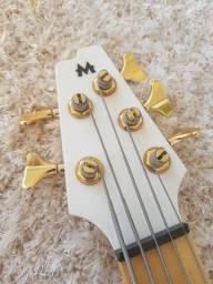 Baixo Mendes Luthier 5 cordas