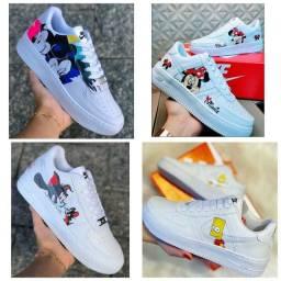 Promoção Tênis Nike Air Force e Adidas Yeezy ( 120 com entrega)
