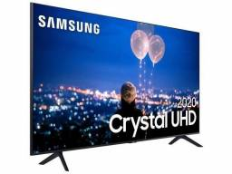 Smart TV Crystal UHD 4K LED 65? Samsung - 65TU8000 Wi-Fi Bluetooth HDR 3 HDMI 2 USB
