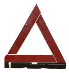 Triângulo sinalização troco