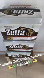 Bateria Zetta 60 amperes lacrada