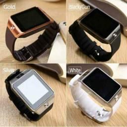 Relógio Smartwatch DZ09 - atenda ligações sem pegar no celular <br>
