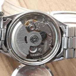 SEIKO 5 Relógio automático masculino Década 70