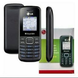 Celular Lg B220 Dual Sim Mb Com Radio E Lanterna Preto