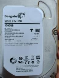 HD 1 tb para computador e DVR parcelo em até 3 x no cartão