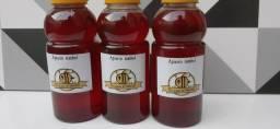 Mel puro de abelha e também temos própolis artesanal