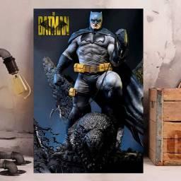 Placa decorativa Batman 60x40cm