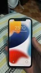 Título do anúncio: iPhone X black 256GB acompanha caixa e carregador
