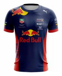 Camiseta F1 Red Bull Azul Fórmula 1 Aston Martin Camisa