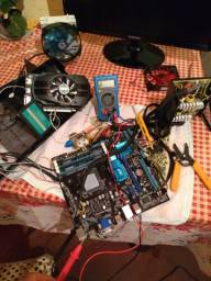 Tequinico de manutenção computador notebook e Monitor