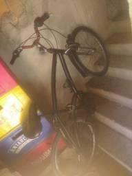 Bicicleta filé toda de alumínio quais só pega e anda