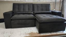 Título do anúncio: Sofá Retrátil e Reclinável C/20cm de Pillow - Disponível 4 tamanhos