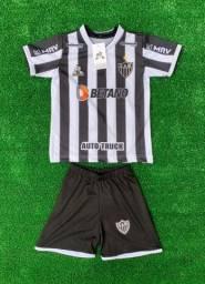 Kit infantil cruzeiro e Atlético