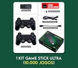 VENDO GAME STICK ULTRA +3,500 JOGOS RETRÔ (KIT FOTO)