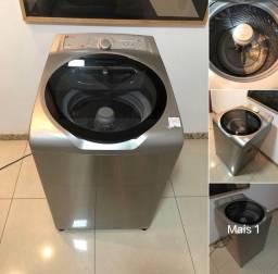 Título do anúncio: Máquina de Lavar 11kg Inox Novinha Entrego