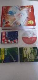 Grande livro do estudante + dicionário português e Inglês + cd