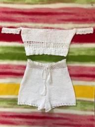 Vendo conjunto de crochê Tam 38